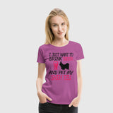 Women Premium T-Shirt Pet My Shihtzu