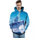 Wolf 3D FullPrint Sublimation Hoodies Men Women