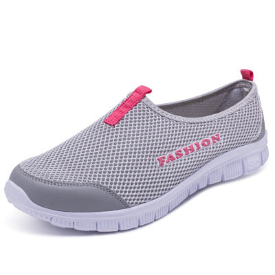 New Women Light Sneakers Summer Breathable Mesh Female Cheap Casual Shoes Lady Walking Outdoor Sport Comfortable