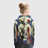 The Nightmare Before Christmas 3D Full Print Sublimation Women PullOver Hoodie Art 01