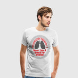 Men's Premium T-Shirt Respiratory Therapists