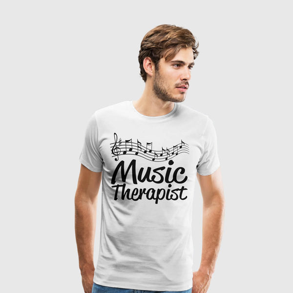 Men's Premium T-Shirt Music Therapist