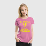 Women Premium T-Shirt Bass Players Stay Out Of Treble