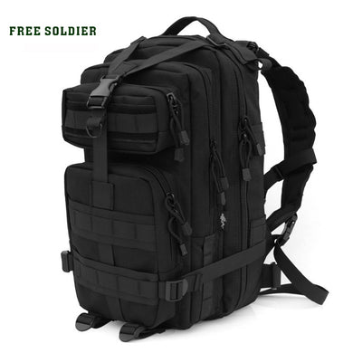FREE SOLDIER outdoor camping men's military tactical backpack 1000D nylon for cycling hiking sports climbing bag