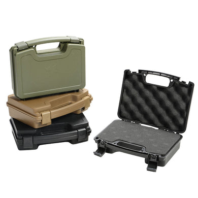High Quality ABS Tactical Hard Pistol Box Case Gun Case Padded Foam Lining for Hunting Airsoft