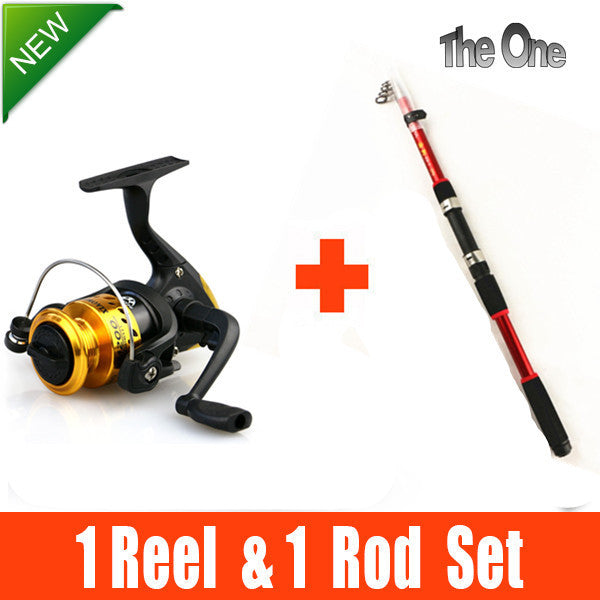 Telescopic carbon fishing rod fishing rods and spinning reel fishing gear ensemble 2.1M-3.6M