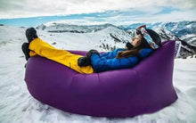 Inflatable Hammock Sleeping Bag Camping Air Sofa Nylon Polyester flotation device