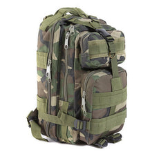 Large Capacity 30L Hiking Camping Bag Army Military Tactical Trekking Rucksack Backpack Camo