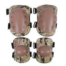 Adult Unisex Tactical Combat Protective Pad Set Gear Sports Military Knee Elbow Protector Elbow & Knee Pads
