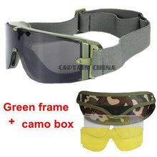 Tactical Goggles USMC Tactical Sunglasses Glasses Army Paintball Goggles