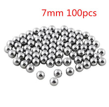 100Pcs 6mm 7mm 8mm Steel Ball For Hunting Professional Slingshot Bearing Bow Ammo Sling Shot Stainless Accessories Outdoor Tools