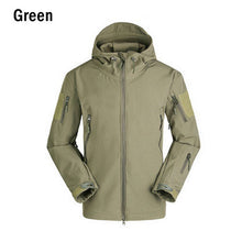 NaturalHome Men Shark Skin Soft Shell TAD V 4.0 Outdoor Tactical Military Jackets Water-resistant Sports Army Clothing Jacket