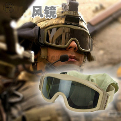 Black Tan Green Airsoft Tactical Goggles USMC Tactical Sunglasses Glasses Army Goggles