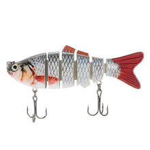 Lixada 6-Segment Fishing Lure 11 Color ABS Crankbait Swimbait Bait 10cm 20g Isca Fish Lures With Hook Fishing Tackle