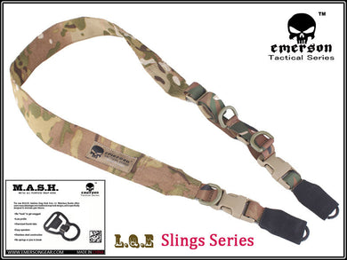 EMERSON L.Q.E One+Two Point Slings LQE Hunting combat tactical gear multicam