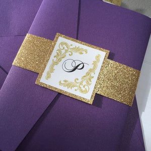 Camilla | Vintage Wedding Invitation Suite - All That Glitters Invitations