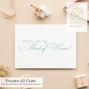 Will You Be My...? Cards, Wedding Party Proposal Cards, Style B - All That Glitters Invitations