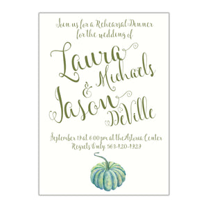 Fun Rehearsal Dinner Invitation, Laura - All That Glitters Invitations