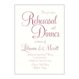 Popular Rehearsal Dinner Invitation, Leihanne - All That Glitters Invitations