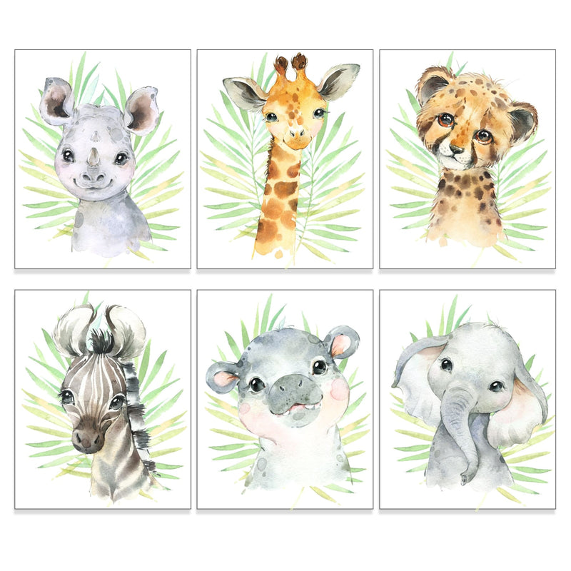 Safari Animal Nursery Art Print, 8