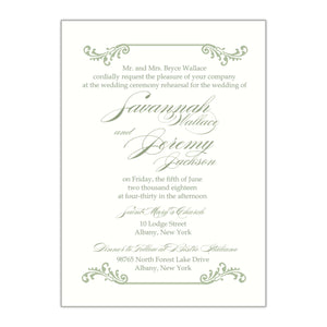 Southern Charm Rehearsal Dinner Invitation, Savannah - All That Glitters Invitations
