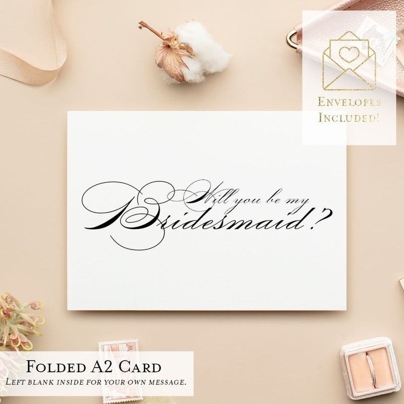 Will You Be My...? Cards, Wedding Party Proposal Cards, Style A - All That Glitters Invitations