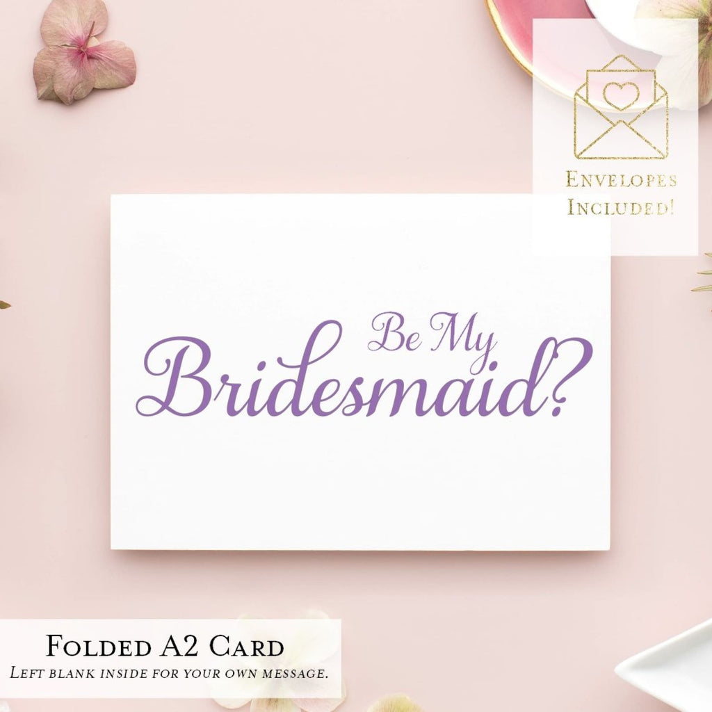 Will You Be My...? Cards, Wedding Party Proposal Cards, Style C - All That Glitters Invitations