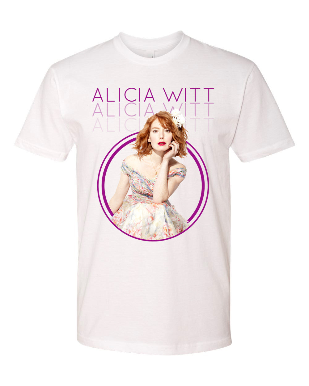ALICIA WITT MAY TOUR T-SHIRT - EXTREMELY LIMITED! UNISEX
