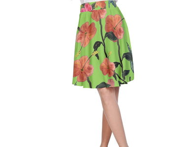 A-Line Skirts (Floral)