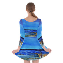Long Sleeve Skater Dresses (Aura)