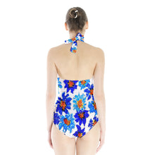 Halter Swimsuit (Floral)