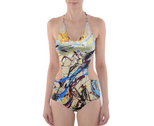 Cut-Out One Piece Swimsuit (Expressive)
