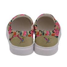 Women's Canvas Slip Ons (Floral)