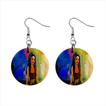 Bohemian Button Earrings (Femininity)
