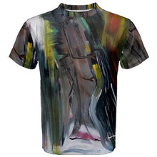 Men's Short Sleeve T-Shirt (Expresive Abstract)