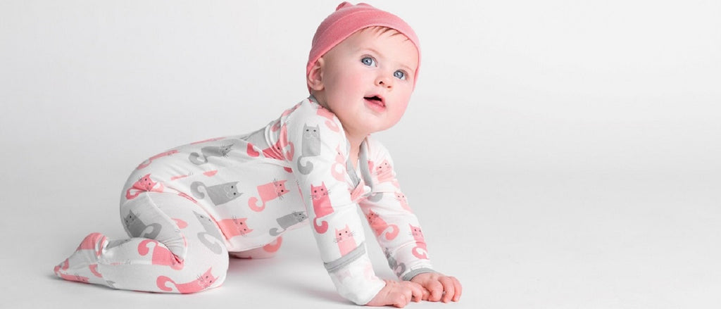 The yummiest, creamiest, most cozy fabric to touch a baby's skin!