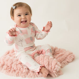 Elephant Pink Coverall