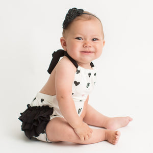 Hearts Bubble Romper