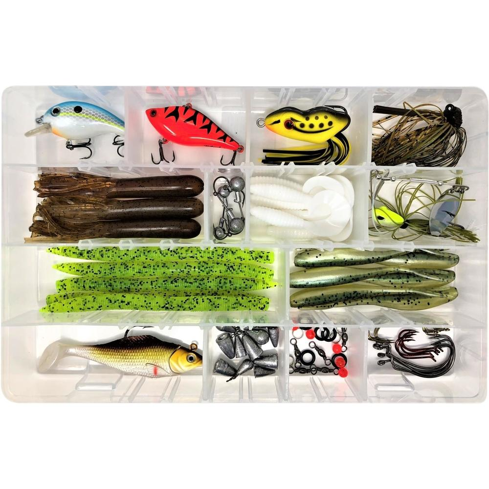 Tailored Tackle Bass Fishing Lures Hooks Jigs Soft Bait