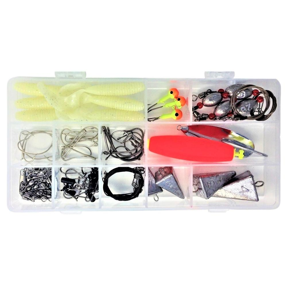 Surf Fishing Kit Rigs Weights Hooks Lures Leaders