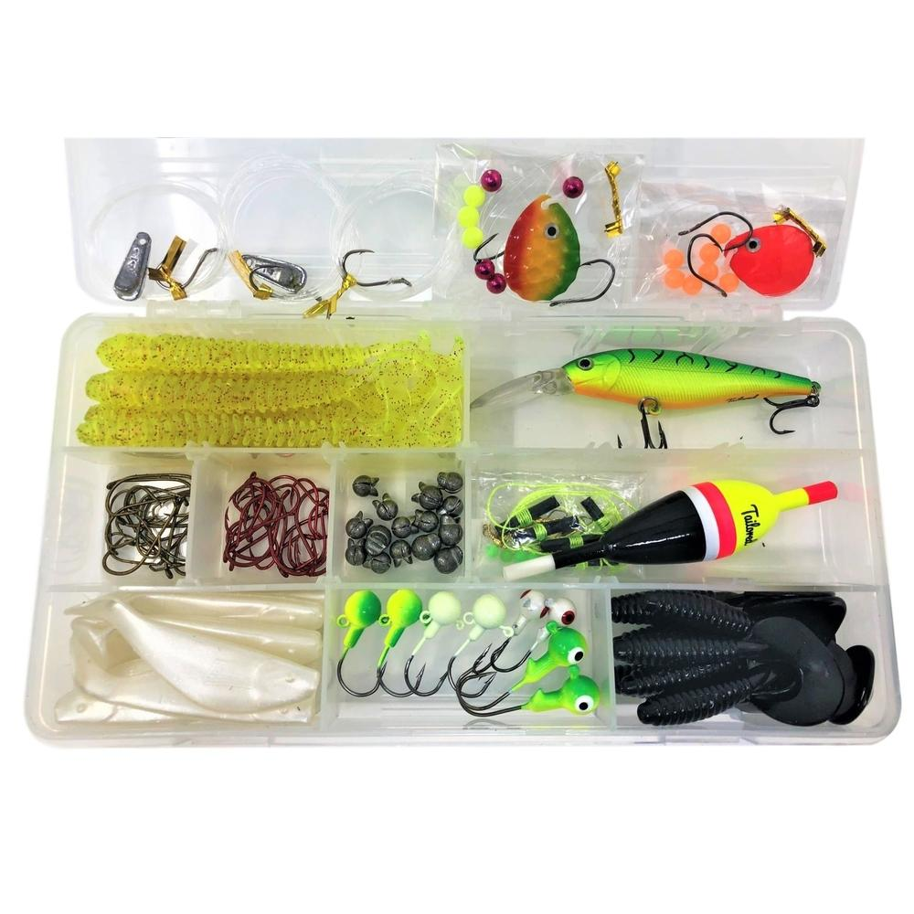 Walleye Fishing Tackle Kit Assortment Tailored Tackle