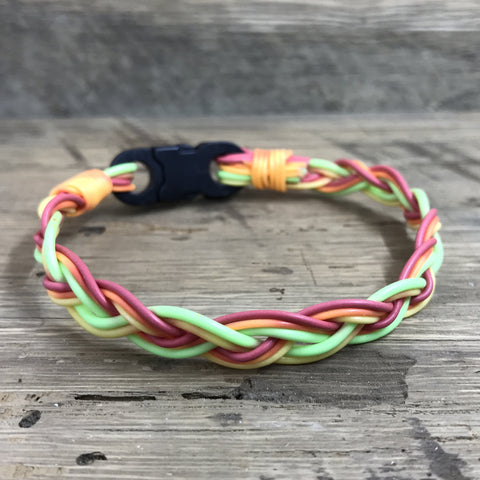 Peacock Bass Fly Line Bracelet