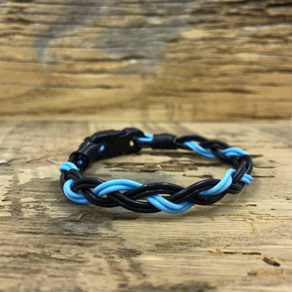 Back The Blue Fly Line Bracelet