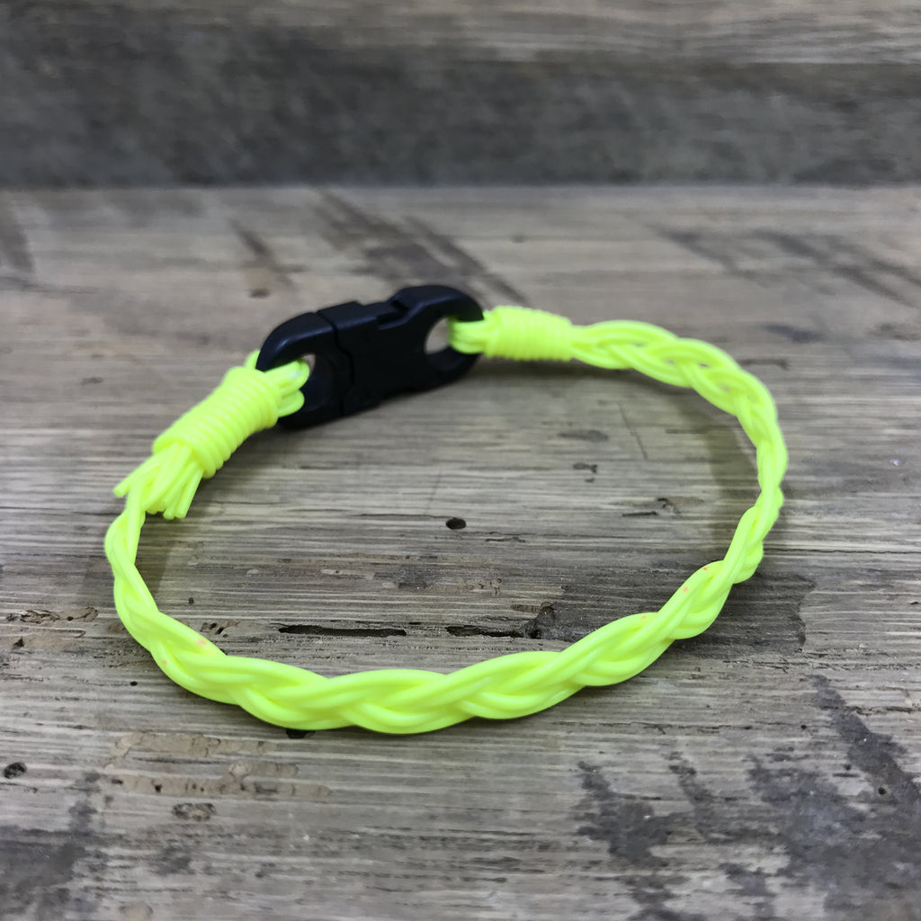 Solid Yellow Fly Line Bracelet