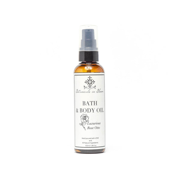 Luxurious Rose Bath and Body Oil