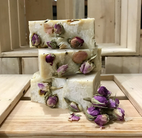 Rose Geranium Coconut Milk Soap