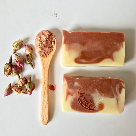 Buy Relaxing Floral Soap with Pink Clay in the Philippines.