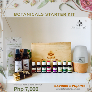 Botanicals Essential Oils Starter Kit