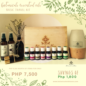 Botanicals Essential Oils Basic Travel Kit