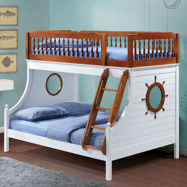 Farah Twin over Full Youth Sailing Bunk Bed